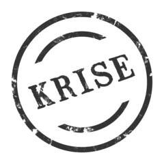 sk41 - StempelGrafik Rund - Krise - g1461