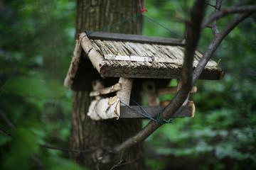 Kleines Vogelhäuschen - Selbstbau