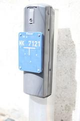 Hinweisschild zu Wasserhydrant
