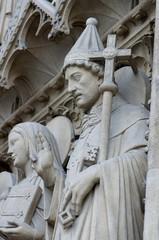 Notre Dame - Détail Façade - Paris