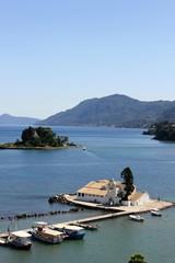 Corfu Church on an Island