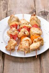 Chicken shish kebab