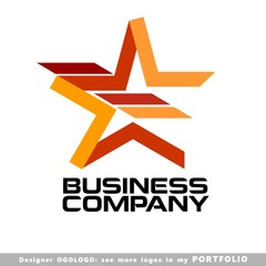 star,emblem, logo, image, identity, vector, business, abstract