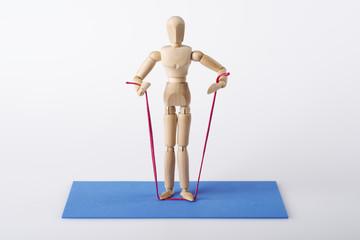 Stretchband Übungen, Physiotherapie