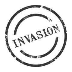 sk44 - StempelGrafik Rund - Invasion - g1464