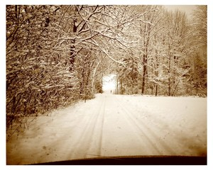 Winter Strasse