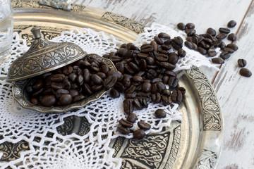 Kahve Bakır Çanak