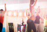 Fototapety Dance class for women