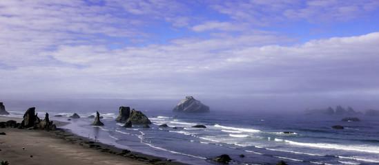 Rocky Beach on Oregon Coast