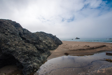 Rocky Oregon Beach