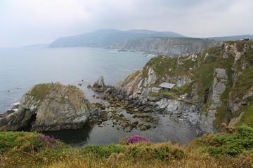 Beautiful Atlantic Coast at Ortigueira, Galicia, Spain