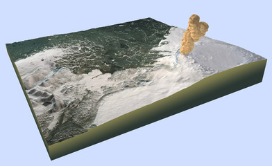 Vulcano Islanda eruzione, Bárðarbunga, Bardabunga
