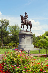 George Washington Statue in Boston Public Garden