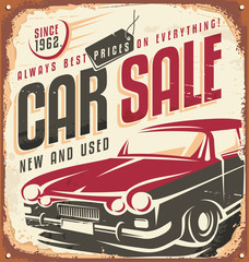 Care sale vintage sign