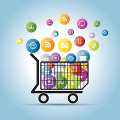 electronic commerce on the Internet and social network