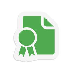 Document badge