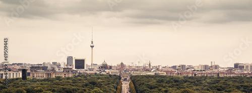 Spoed canvasdoek 2cm dik Berlijn Berlin