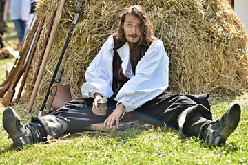Drunk Medieval Man
