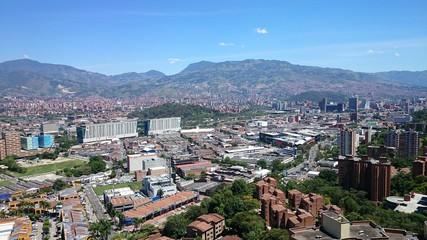 Panorámica de Medellín Colombia