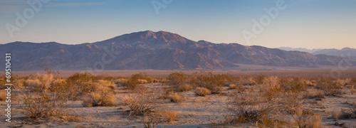 Fotobehang Woestijn Desert Sunrise