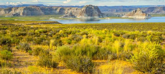 Lake Powell and Glen Canyon in Arizona, USA