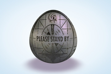Please stand By Egg