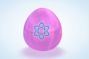 The Pink Girl Atomic Power Egg