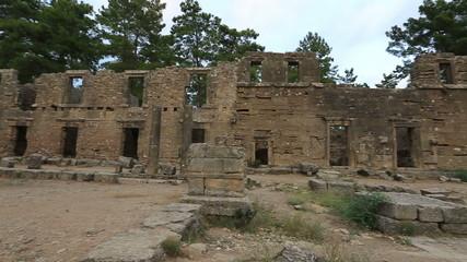Ancient Seleucia (Lybre) City at Turkey