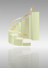 3D Ascending Staircase