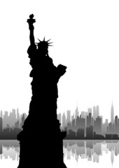 New York City. vector file