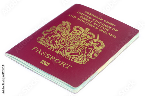 British passport - 69513627