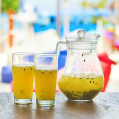 Papaya fresh juice