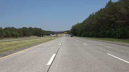 Driving on Highway, Freeway, Expressway