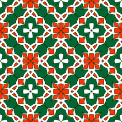 Seamless abstract ornament.