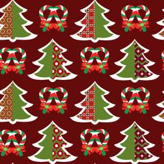 Christmas pattern - Illustration