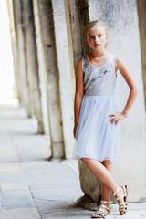 Portrait of fashion girl