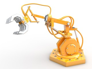 Roboter mit Greifarm