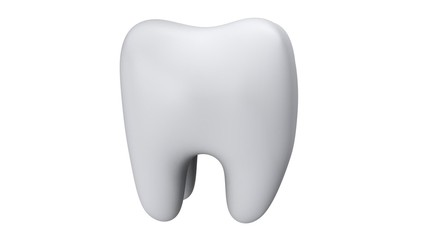 Animation of Tooth Rotation. Seamless Looping