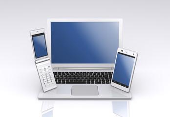 PC,スマートフォン,携帯電話
