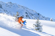 Freeride-Traum im Winter