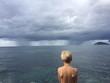 Regenschauer auf Elba