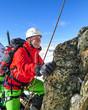 Abenteuer im winterlichen Gebirge