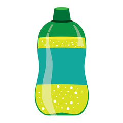 Green Lemonade Bottle