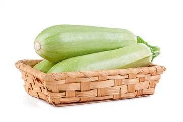 zucchini isolated