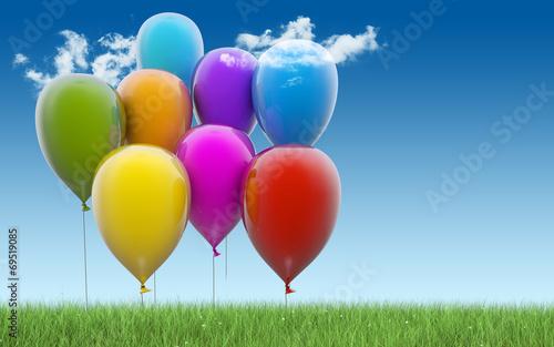 Colorful balloons © Petr Ciz