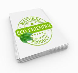 Stamp eco friendly