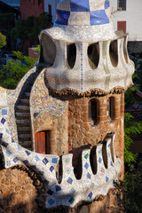 Porter's Lodge Pavilion in Park Guell