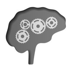 vector human brain icon