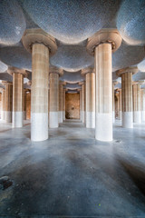 Hypostyle Room in Park Guell