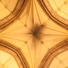 Dome of small Scottish cathedral